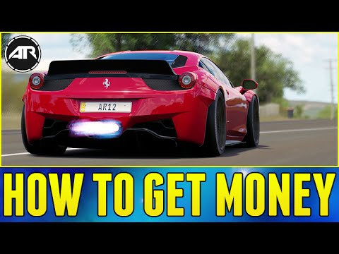 Forza Horizon 3 : HOW TO GET MONEY FAST!!!