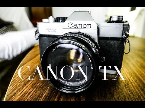 HOW TO BUY, CLEAN,  AND CLA A FILM CAMERA / CANON TX / FIX LIGHT LEAKS