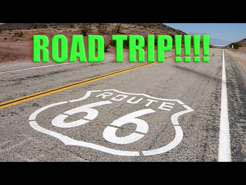 Driving Route 66 Road Trip