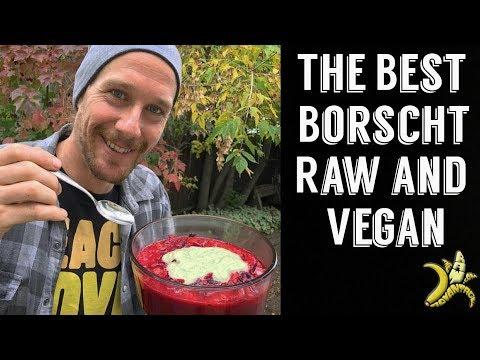 Borscht Recipe | The Best Raw Vegan Borscht