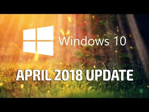Installing the Windows 10 April 2018 Update!