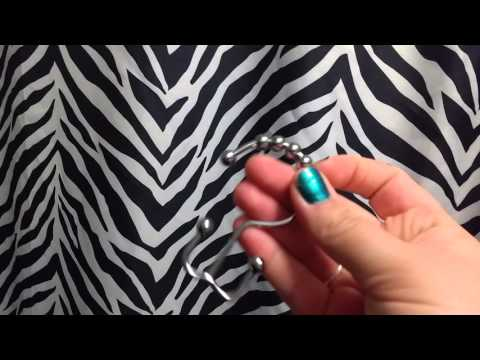Double Glide Roller Shower Curtain Hooks by Utopia Bedding Review