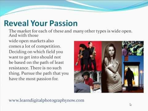 How To Break Into The Photography Business Sector