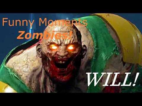 Infinite Warfare Space Land Zombies Funny Moments (WILL!)