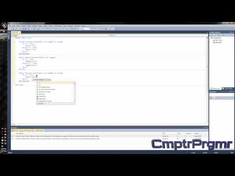 Tutorial - Visual Basic 2010 - How to make a dll/Class Library - L3GiT