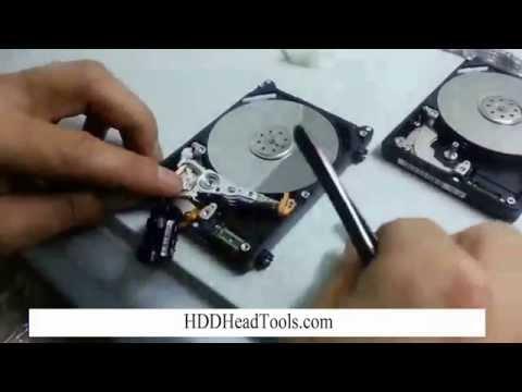 Western Digital Laptop Hard Drive Head Swap