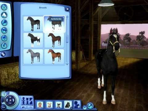 The Sims 3 Pets: Horse Breeds