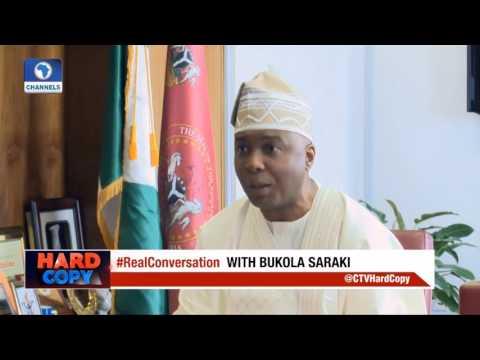NIGERIA NASS - Senate President Bukola Saraki Speaks on The Fight Against Corruption in Nigeria
