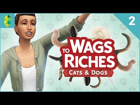 Wags to Riches - Part 2 (Sims 4 Cats & Dogs)