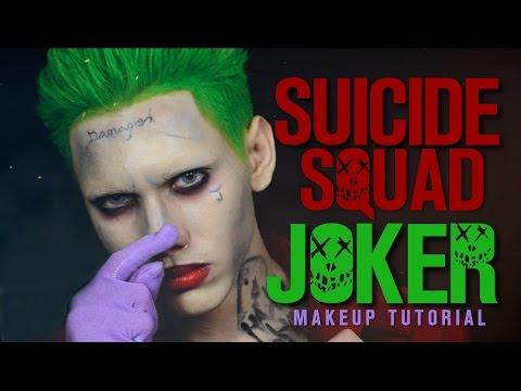 Suicide Squad JOKER Makeup Tutorial