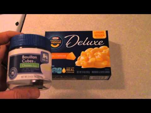 Box Mac and Cheese kicked up a notch
