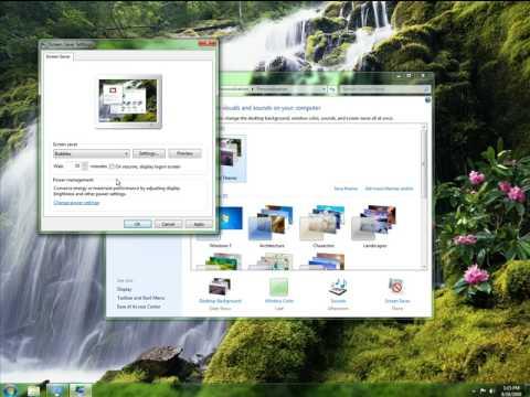 Create your Windows 7 Themes