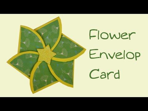 Flower Envelop Card | Valentine Special | T Craft