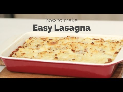 How to Make Easy Lasagna | Yummy Ph