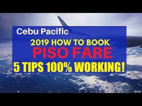 CEBUPACIFIC PISO FARE HACKS 100% WORKING! TIPS ON HOW TO BOOK FAST CEBU PACIFIC TICKET