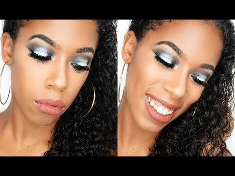 Night Time Glam Makeup Look ☾ Juvia's Saharan Palette