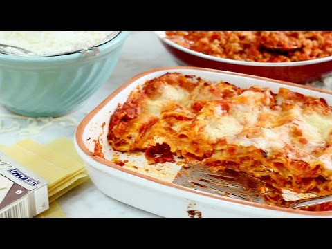 Recipe: Classic Three-Cheese Lasagna