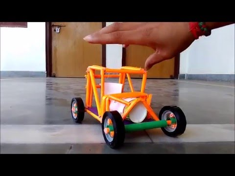 How to make a paper racing car - new concept - for kids