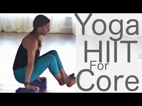 Yoga HIIT for Core With Fightmaster Yoga