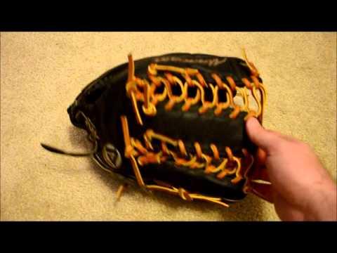 Akadema ADB138 Baseball Glove Relace - Before and After Glove Repair