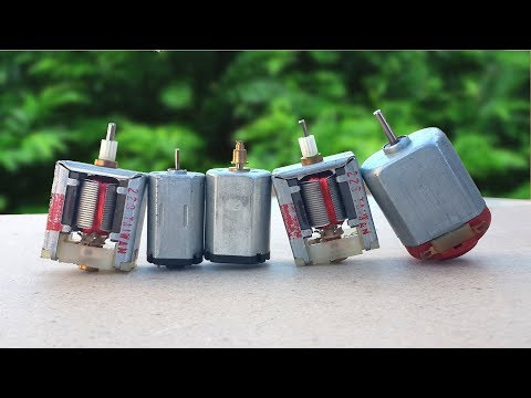 5 Amazing Ideas & DIY Toys from DC Motor
