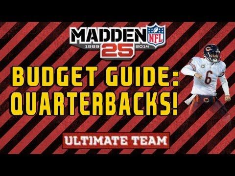 Mut 25 Budget Guide to Teambuilding : Quarterbacks! Madden 25