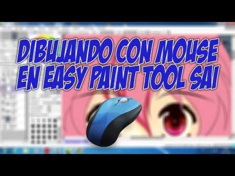 Cómo dibujar con mouse en SAI por Shukei