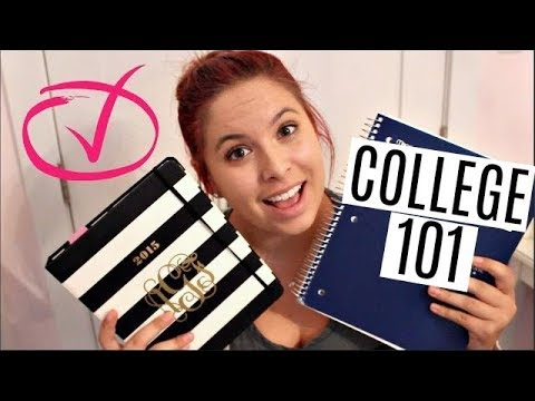 How To Stay Organized In College/University!