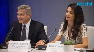 George & Amal Clooney The Cutest Humanitarians You
