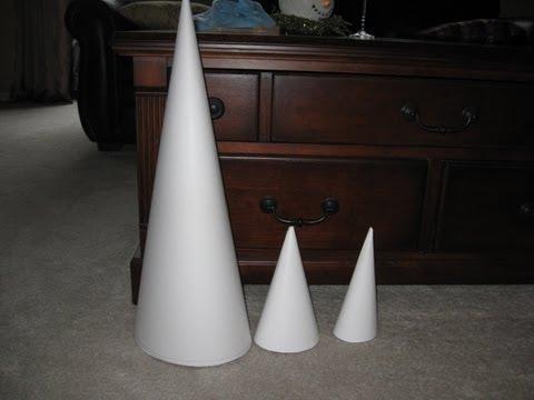How to Make a Really Big Cone! Craft Tutorial