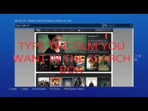 How to watch free movies on ps4