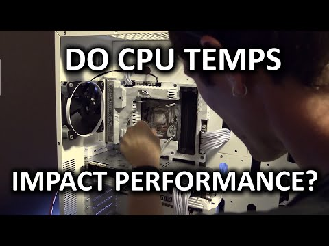 CPU Cooling - Does temperature impact performance?