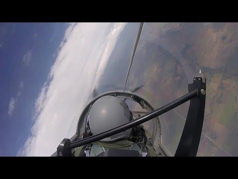 T-6 Texan II Cockpit Footage Over Oklahoma