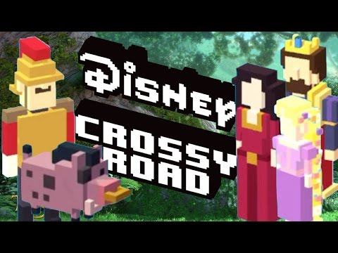 how to unlock TANGLED Secret Characters in DISNEY CROSSY ROAD | iOS, Android