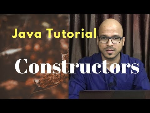 #4.3 Java Tutorial | Constructor Example