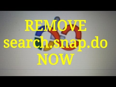 HOW TO REMOVE SEARCH.SNAP.DO.COM EASILY