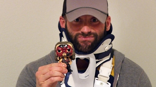 Zack Ryder unboxes the new Kane and Shawn Michaels Walgreens-exclusive Funko WWE Pop! vinyl figures
