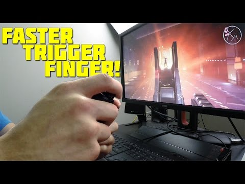 How to Improve your Trigger Finger! | Shoot Semi-Autos Faster!