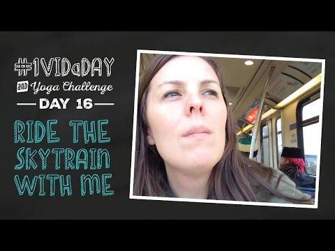Passport, Doctor Visit, Skytrain & What I Ate  |  #1VIDaDAY + YOGA: DAY 16