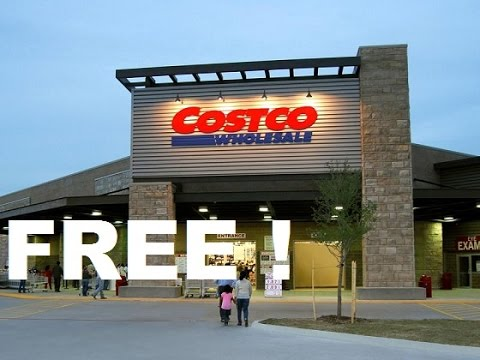 How to get in Costco free (very easy)