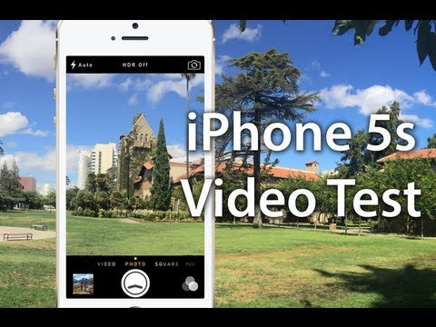 iPhone 5S Video Test - iPhone 5S Camera Test - Slo Mo Video Test