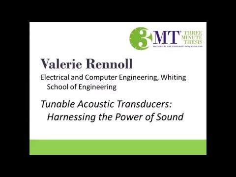 2018 Three Minute Thesis Second Place Winner – Valerie Rennoll
