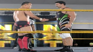 Satender Dagar ( Jeet Rama ) Vs Tian Bing Bringing The Fight WWE NXT Performance Center!