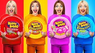 Bubble Gum Blowing Battle by Multi DO Food