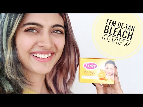 How To Remove Tanning From Face, Hands & Feet Instantly Using FEM De-tan Bleach | SuperWowStyle