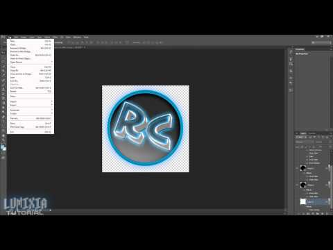 How to create a transparent background in photoshop CS6