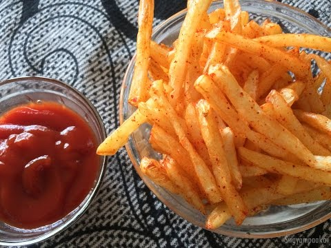 French Fries  using Air Fryer | Oil Free Frying | Potato Fries
