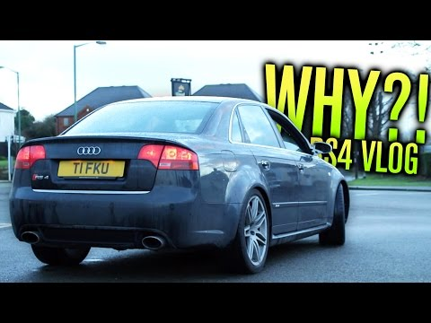 WHY DID I BUY AN AUDI RS4?!?!