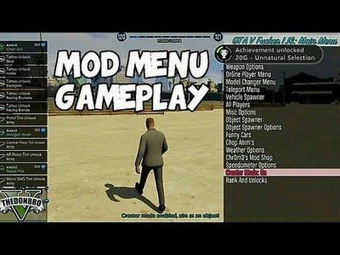 how to install mod menu gta v for xbox 360