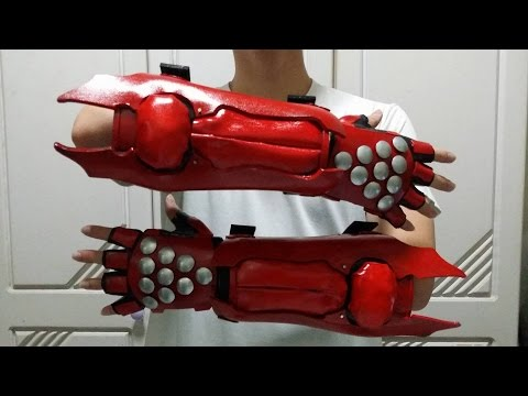 Jin Kazama's Gloves Making Tutorial Tekken 6 (Part 1)